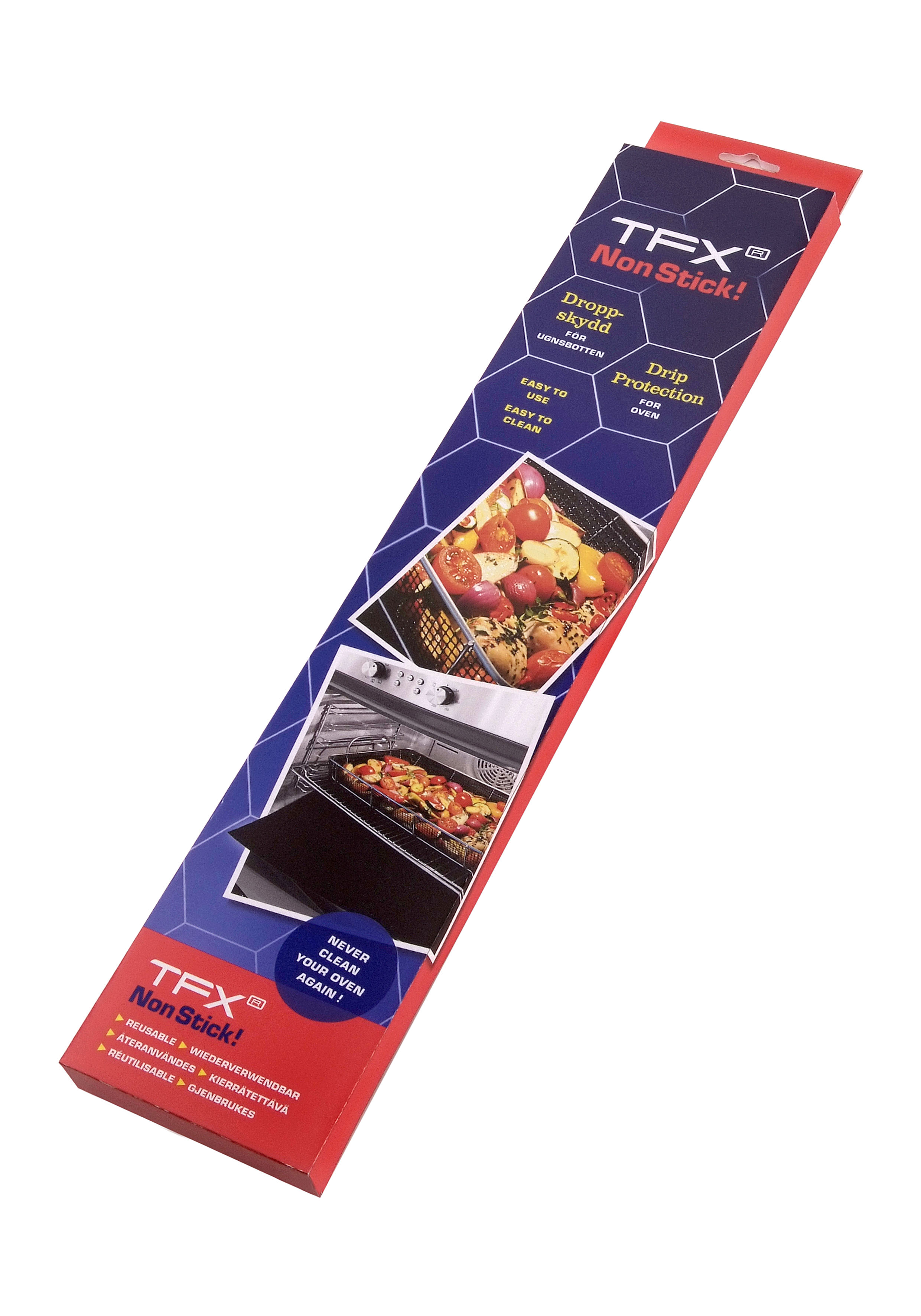 TFX Non Stick! Drop Protection
